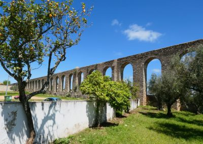 9 km akvedukt finns kvar