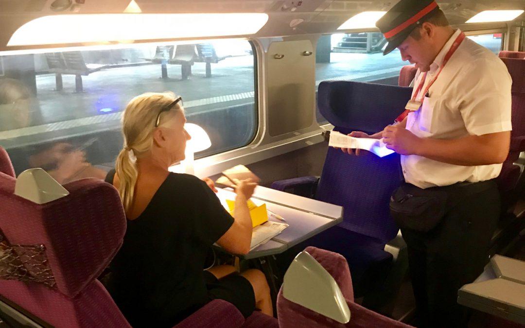 Till Galicien med tåg